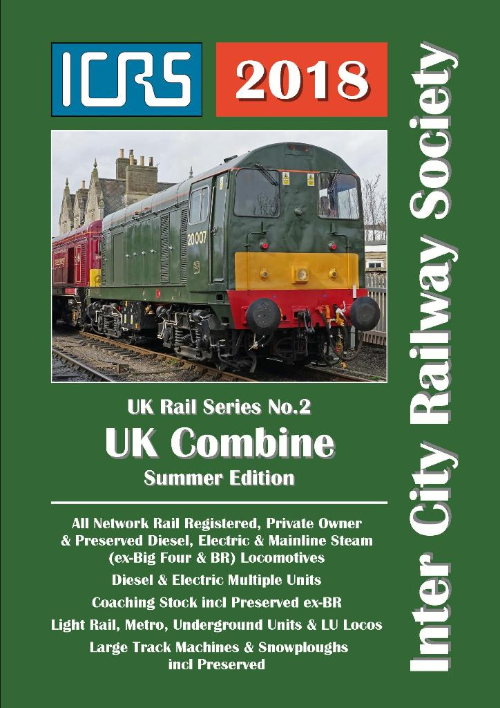 UKRS02B UK Combine Summer Ed 2018